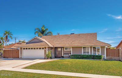 Camarillo Single Family Home For Sale: 1168 Seybolt Avenue