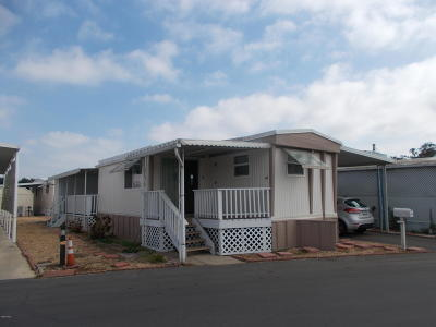 Oxnard Mobile Home For Sale: 4032 Mockingbird Lane