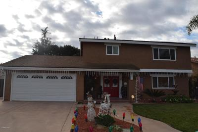 Camarillo Single Family Home Active Under Contract: 548 Corte Golondrina