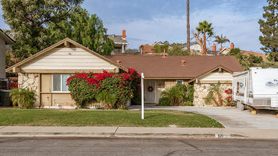 Santa Paula Single Family Home For Sale: 571 Richard Road