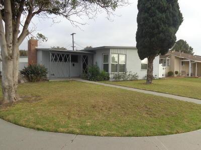 Oxnard Single Family Home For Sale: 1241 Deodar Avenue