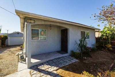 Fillmore Single Family Home For Sale: 854 4th Street