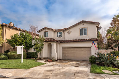 Camarillo Single Family Home For Sale: 1736 Santo Domingo