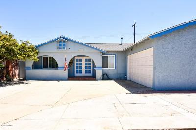 Oxnard Single Family Home Active Under Contract: 3410 S J Street