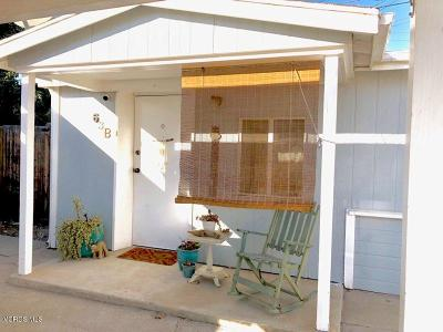 Ventura County Rental For Rent: 63 James Drive #B