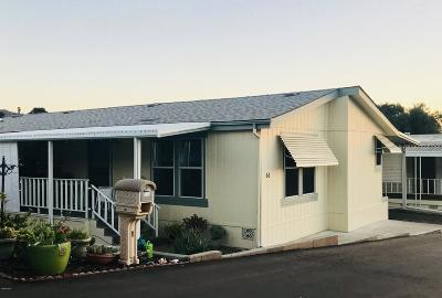 Ojai Mobile Home Active Under Contract: 1202 Loma Drive #66
