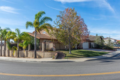 Camarillo Single Family Home For Sale: 1563 Avenida Del Manzano