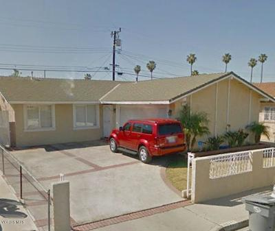 Oxnard Single Family Home For Sale: 111 Julian Street