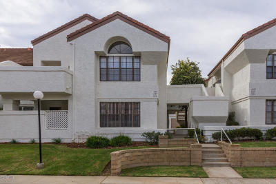 Camarillo Condo/Townhouse Active Under Contract: 1137 Mission Verde Drive