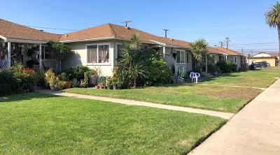 Oxnard Multi Family Home For Sale: 2101 San Marino Street