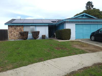 Oxnard Single Family Home For Sale: 3400 Frankfort Court