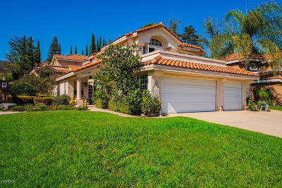 Simi Valley Single Family Home For Sale: 985 Firestone Circle