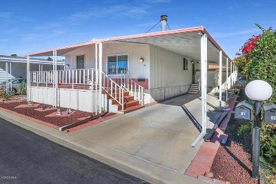 Camarillo Mobile Home For Sale: 1150 Ventura Boulevard #81