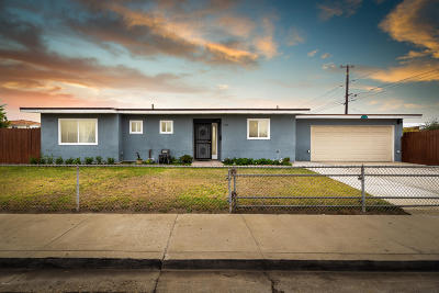Oxnard Single Family Home Active Under Contract: 2100 Carob Street