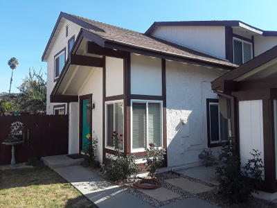 Santa Paula Single Family Home For Sale: 165 Cameron Street