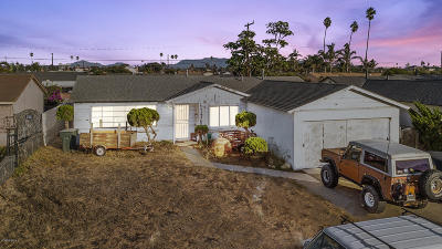 Oxnard CA Single Family Home For Sale: $350,000