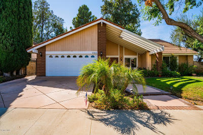 Westlake Village Single Family Home For Sale: 3304 Sawtooth Court