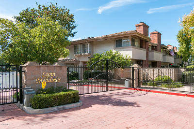 Newbury Park Condo/Townhouse For Sale: 153 Greenmeadow Drive
