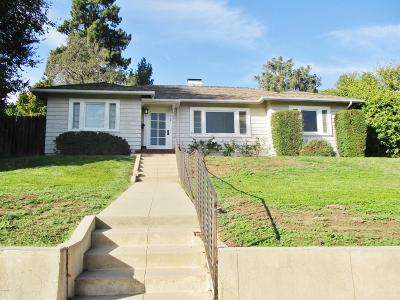 Santa Paula Single Family Home For Sale: 719 E Virginia Terrace