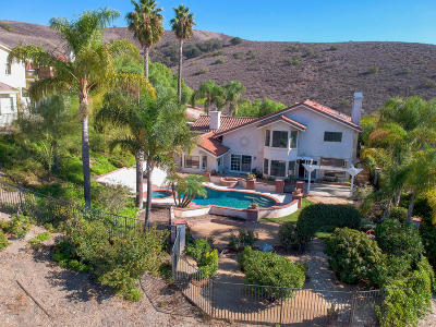 Thousand Oaks Single Family Home Active Under Contract: 2509 Crown View Court