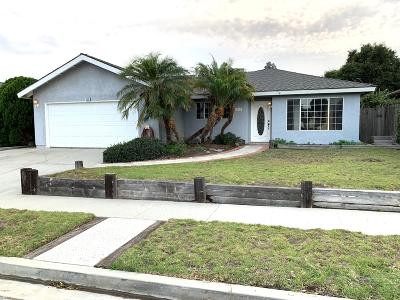 Ventura Single Family Home For Sale: 1815 Shannon Avenue