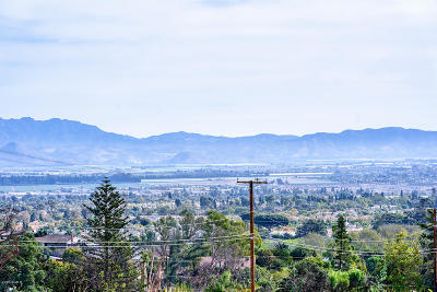 Ventura Residential Lots & Land Active Under Contract: 871 Via Ondulando