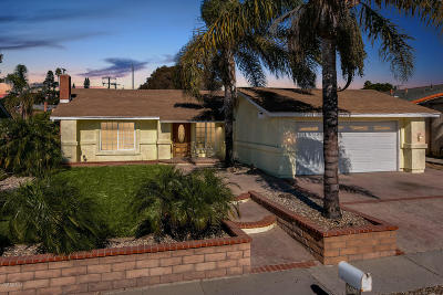 Ventura Single Family Home For Sale: 6629 Quail Street