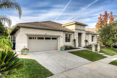Newbury Park Single Family Home Active Under Contract: 5317 Via Jacinto