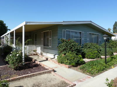 Camarillo Single Family Home For Sale: 117 Tranquila Drive