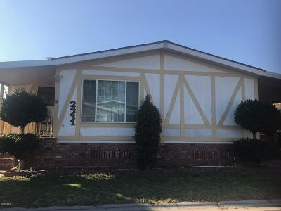 Oxnard CA Mobile Home For Sale: $189,000