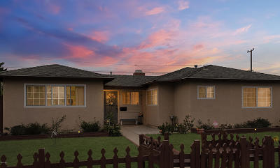 Oxnard Single Family Home Active Under Contract: 613 Spruce Street