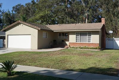Ventura Single Family Home For Sale: 5495 Bryn Mawr Street