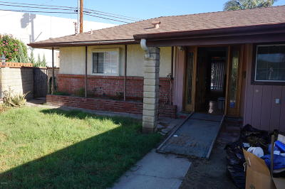Santa Paula Single Family Home For Sale: 606 Elfred Court