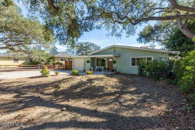 Santa Paula Single Family Home For Sale: 1210 Fern Oaks Drive