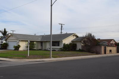 Port Hueneme Single Family Home Active Under Contract: 1706 7th Place