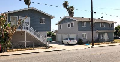 Multi Family Home For Sale: 622 Santa Clara Street