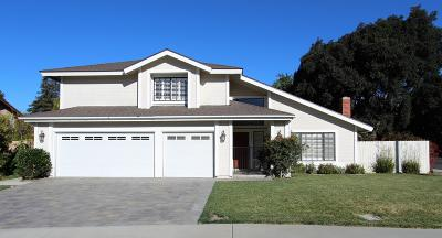Camarillo Single Family Home For Sale: 1691 Daphne Street