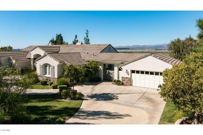 Camarillo Single Family Home Active Under Contract: 1339 Avenida De Aprisa