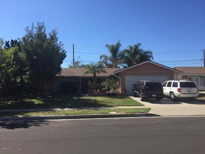 Camarillo Single Family Home Active Under Contract: 855 Calle La Palmera