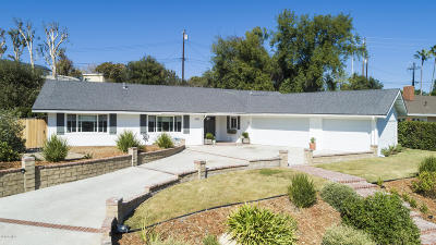 Thousand Oaks Single Family Home For Sale: 1655 Fremont Drive