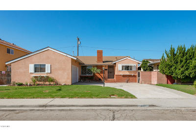 Santa Paula Single Family Home Active Under Contract: 412 Laurie Lane