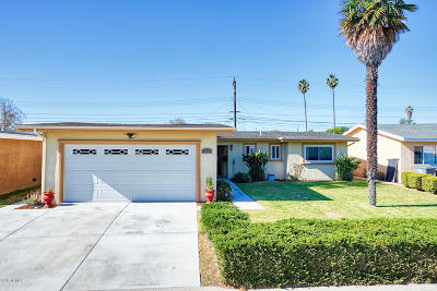 Oxnard Single Family Home For Sale: 1721 McLoughlin Avenue
