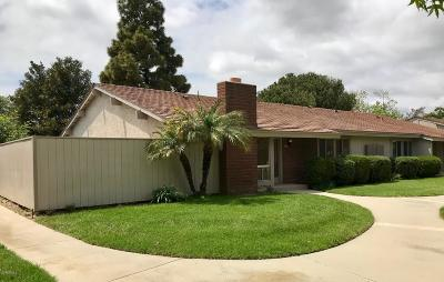 Oxnard Condo/Townhouse Active Under Contract: 543 Holly Avenue