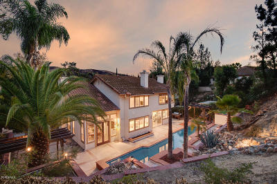 Westlake Village CA Single Family Home For Sale: $1,490,000