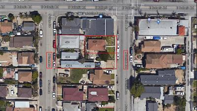 Oxnard Multi Family Home For Sale: 429 Garfield Avenue