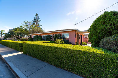 Oxnard Single Family Home For Sale: 710 Hill Street