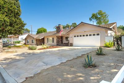 Thousand Oaks Single Family Home For Sale: 1052 Camino Dos Rios