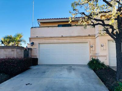Oxnard Single Family Home Active Under Contract: 2940 Fanshell Walk