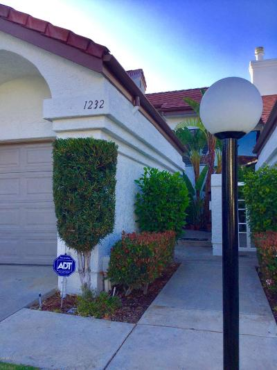 Camarillo Condo/Townhouse For Sale: 1232 Mission Verde Drive