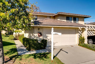 Ventura Condo/Townhouse Active Under Contract: 827 Sandberg Lane